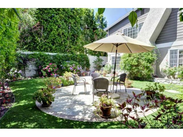 Picture-perfect and private backyard and patio.  What a lovely r
